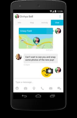connect android, Connect : Tous vos contacts sur une seule carte (mail, Facebook, Instagram, Linkedin…)