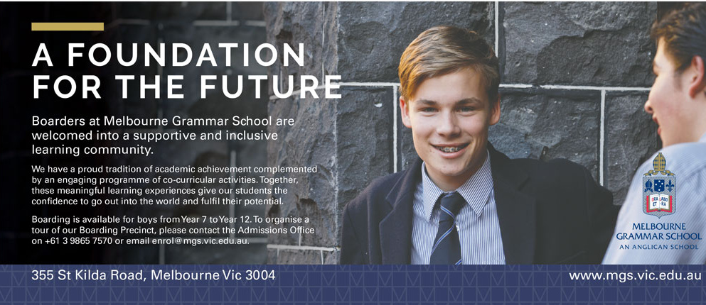 The Australian Boarding Schools Melbourne Grammar School