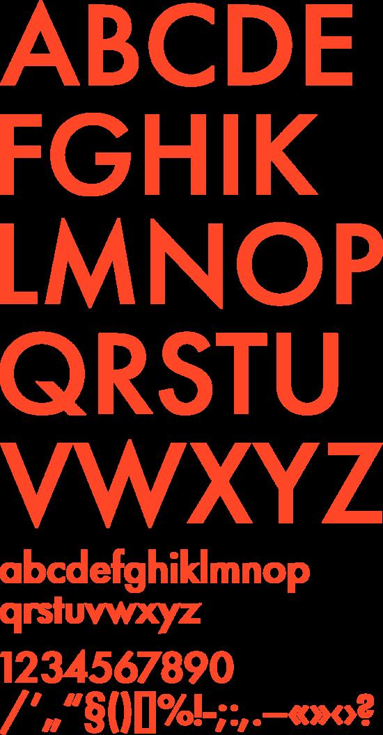 R/m Design Almanac — Font Pairs — Futura + Garamond