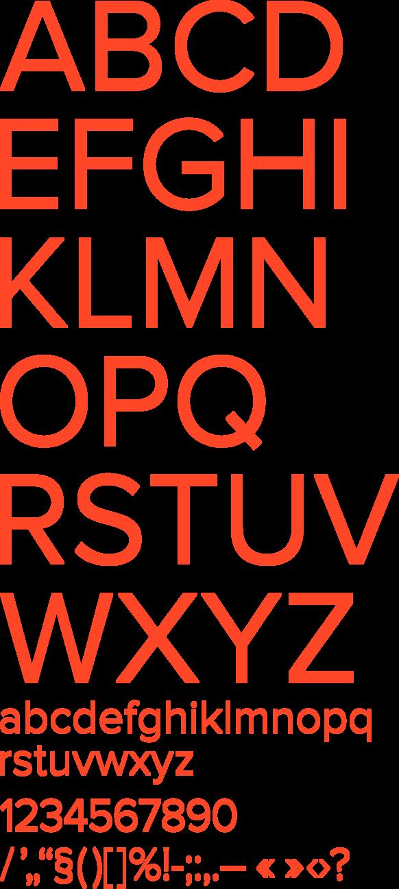 R/m Design Almanac — Font Pairs — Farnham + Benton Sans