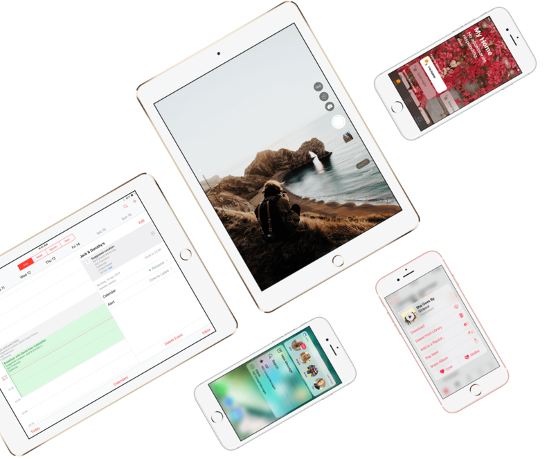 iOS Design Kit - Free iOS GUI for iPhone & iPad
