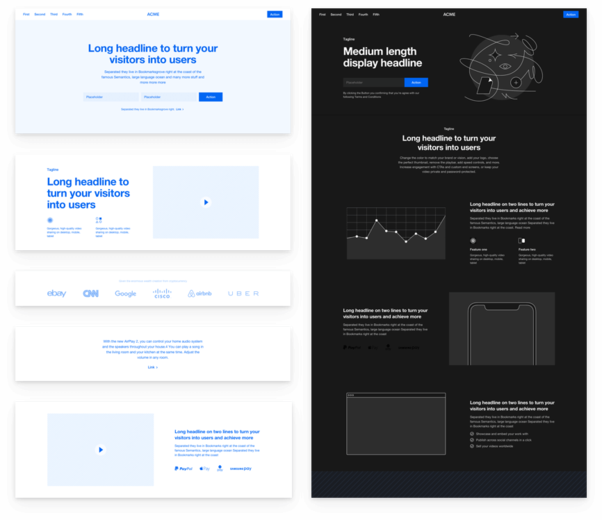 Platforma Wireframe Kit