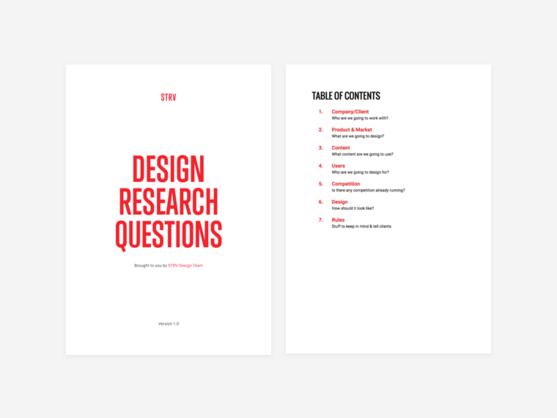 Design Resources by STRV